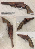 Mal Reynolds pistol from Firefly foam prop gun by GirlyGamerAU