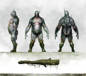 Forest Troll Sheet by karatastamer