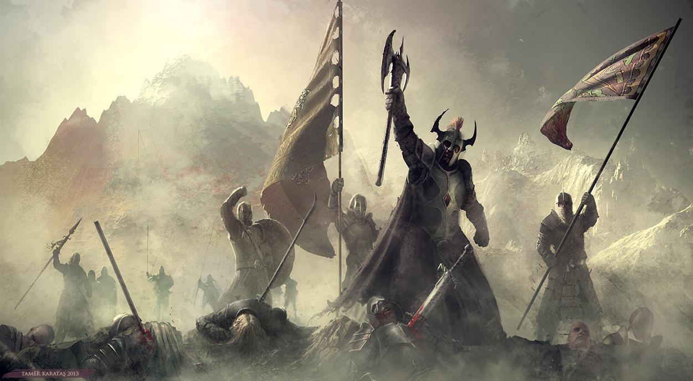 Victory by karatastamer