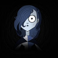 Trying the tim burton style by Carlos1909