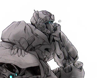 Sketch Autobot Crosshairs (with BBB) by Swiper-dA