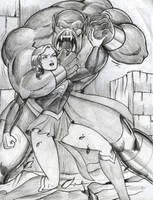 supergirl by rogelioroman