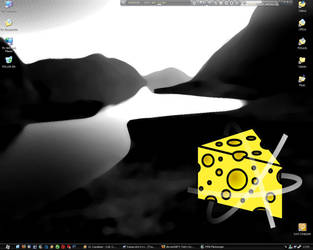 My Desktop by d-icer