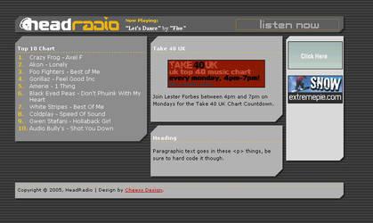 HeadRadio by d-icer