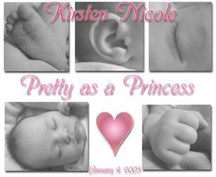 Pretty as a Princess by midgetpenguin83