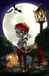 Chibi centaur zombie by ZellaRoss