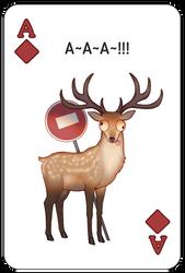Deer of Baratheons by ZellaRoss