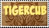 Grinning tiger disorder -stamp by RaviTheBlueTiger