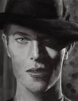 David Bowie by Yneddt