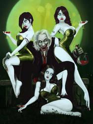 Dracula's brides by Yneddt