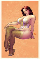 Curvy Rocketeer Babe Web By Stephaneroux-d7suhdx by PurpleRoach