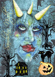 SAMHAINN NIGHT by laoscura