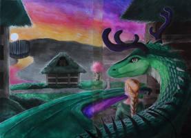 Gezegend - Het Erfdeel van de Draak by The-fox-of-wonders