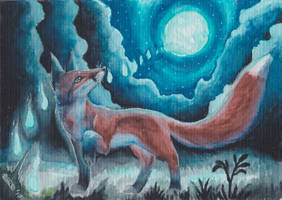 Foxfire by The-fox-of-wonders