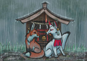 Shelter by The-fox-of-wonders