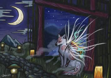 Celestial Visit by The-fox-of-wonders