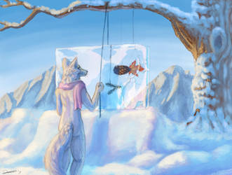 Ice Aquarium - AC #163 by The-fox-of-wonders
