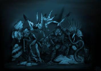 Barraki - The Lords of the Sea by Galvaridarts
