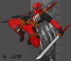 Deadpool by yhenz