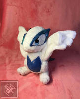 Lugia Pokedoll by ThimblesThread