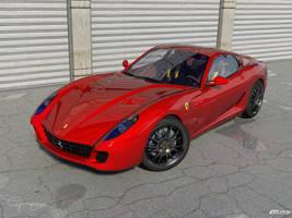 Ferrari 599 GTB Fiorano 2 by cipriany