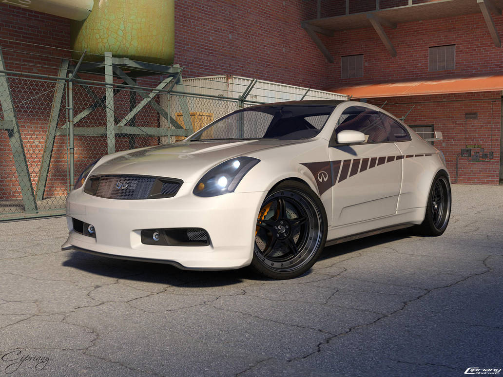 Infiniti G35 Tuned By Cipriany On Deviantart