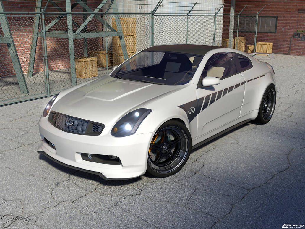 Infiniti G35 Tuned 2 By Cipriany On Deviantart