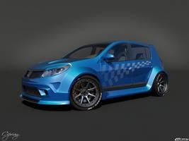 Dacia Sandero Tuning 8 by cipriany