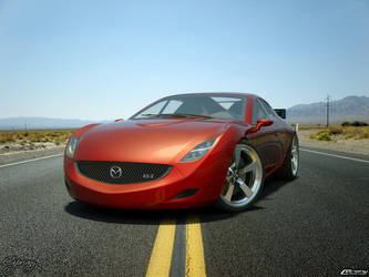 Mazda RX-Z concept 13 by cipriany