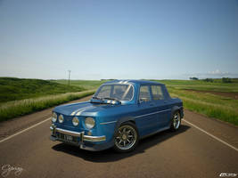 Renault 8 Gordini 1300-7 by cipriany