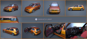 VW Golf 3 GTI 15 by cipriany