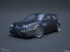 VW Golf 3 GTI 16 by cipriany