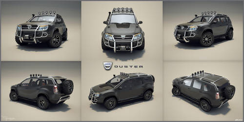 Dacia Duster Tuning 17 by cipriany