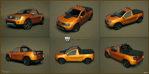 Dacia Duster Tuning 30 by cipriany