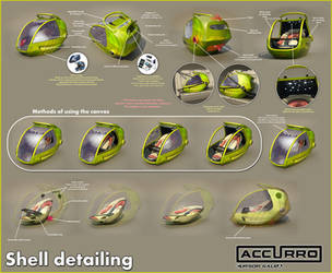 ACCURRO - Shell detailing by cipriany