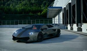 Lamborghini Murcielago SV - tuning 1 by cipriany