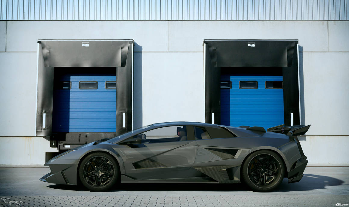 Lamborghini Murcielago SV - tuning 3 by cipriany