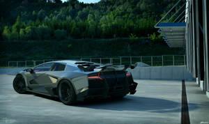 Lamborghini Murcielago SV - tuning 4 by cipriany