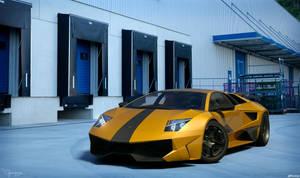 Lamborghini Murcielago SV - tuning 8 by cipriany