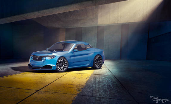 Renault 8 Gordini - concept V2 - 2 by cipriany