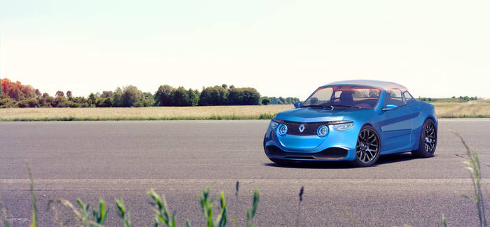 Renault 8 Gordini - concept V2 - 9 by cipriany