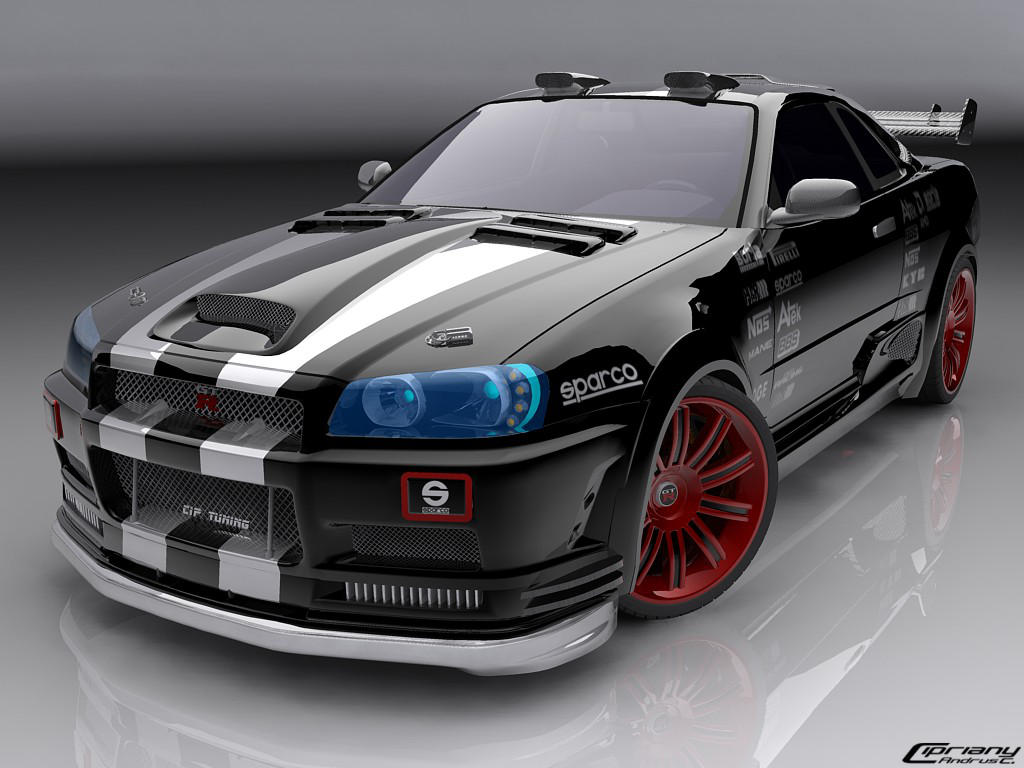 Nissan Skyline 3 by cipriany