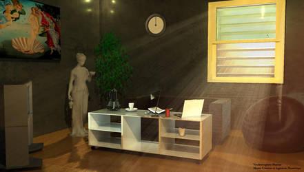 Espace interieur d'amenagement by ll-baberlyvan