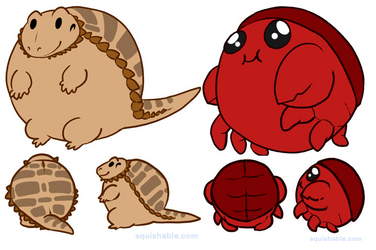 HELP! VOTE FOR MY SQUISHABLES! by LemonLimePanda