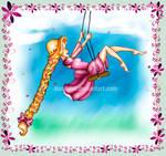 Rapunzel Swinging by alittlemandy