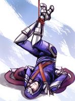 Tied up Talon by queenvera