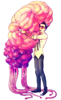Newt x Kaiju brain by queenvera