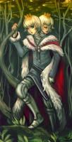 Two Kings by queenvera