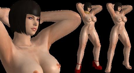 Girl big ass naked