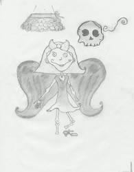 Flesh and Bones _doodles_ by goodxriddance